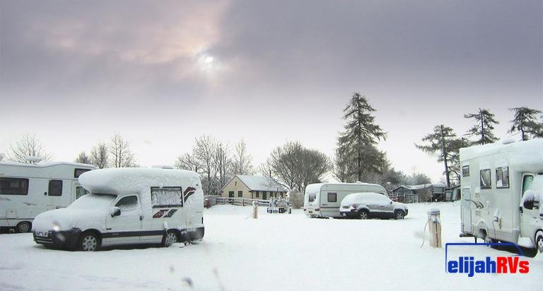 Caravanning in winter